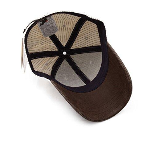 Stetson - Casquette baseball homme Plano stripe