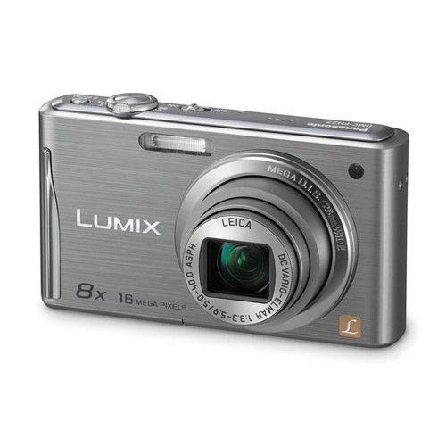 Panasonic Lumix DMC-FH27 16.1 Megapixel Compact Camera - 5 mm-40 mm - Silver (Panasonic Camera Av Cable)