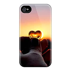Hot Design Premium RPYaivl140tfjsI Tpu Case Cover Iphone 4/4s Protection Case(show Me Your Love)