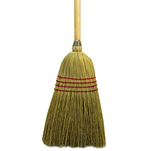 (Boardwalk Maid Broom, Mixed Fiber Bristles, 42