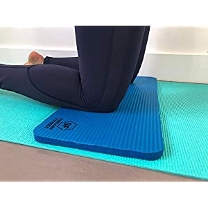 """Sargoby Fitness Yoga Knee Pad Cushion 15mm (0.6"""") Thick 