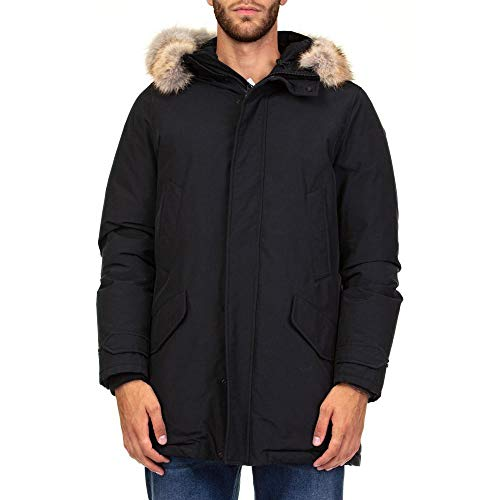 Woolrich Polar In D'oca Piuma parka Black Wocps2737 r5HR0rx