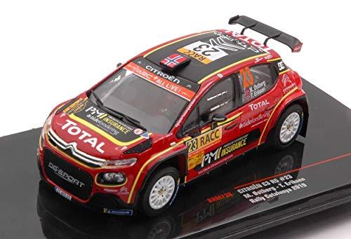 Ixo Model RAM738 Citroen C 3 R5 N.23 Rally Catalunya 2019 OSTBERG-Eriksen 1:43 kompatibel mit