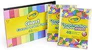 Crayola Bulk Construction Paper for Kids, Art Supplies, Assorted Colors, Amazon Exclusive