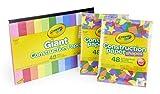 Crayola 99-0553 Bulk Construction Paper Set, Back