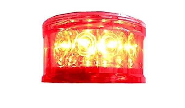 S16LF 3NM GREEN IP67 SOLAR LED Marine Dock Barge Safety Beacon Light 360 Degree