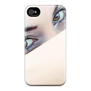 Fashionable XRdtHyq3195EiiSC Iphone 4/4s Case Cover For Cute Eyes Girl Protective Case Kimberly Kurzendoerfer