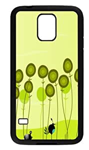 Beautiful poppy flower Back Protector Cover Case for Samsung Galaxy S5