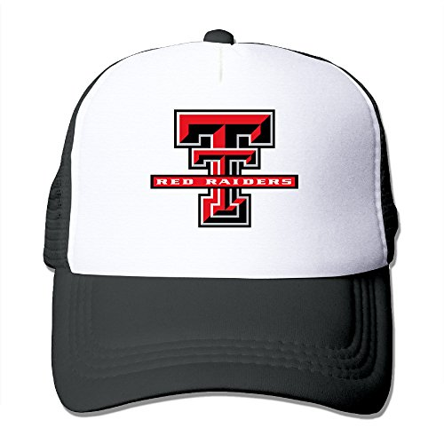 Red Raider Mascot Costume (ACMIRAN Texas Tech University Red Raiders Unisex Mesh Hat One Size Black)