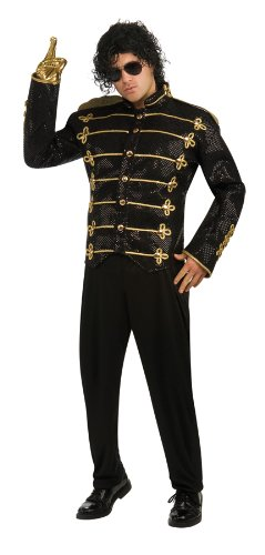 Michael Jackson King of Pop Icon Military Jacket Costume ()