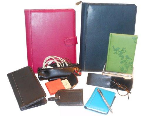 Pierre Belvedere A4/Letter Size Snap Portfolio, Refillable, Plum (371010) Photo #3