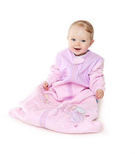 Schlummersack Baby Ganzjahres Schlafsack Langarm 2.5 Tog 90cm/6-18 Monate - Pink Fairy