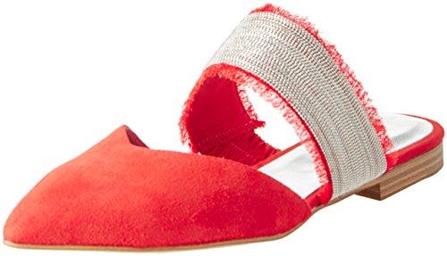 Sandalias 17 Rojo Con Kings Mujer Punta Cerrada red Steffen Para Schraut 121 Ave 47aaIq