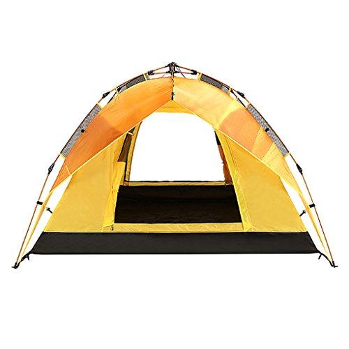 細分化するスキッパー不調和テント、自動厚い防雨アルミ合金野外野キャンプフォーシーズンズテント