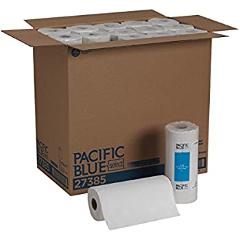 Pacific Blue Select 2-Ply Perforated Roll Towel (Previously Branded Preference) by GP PRO, White, 27385, 85 Sheets Per Roll, 30 Rolls Per Case