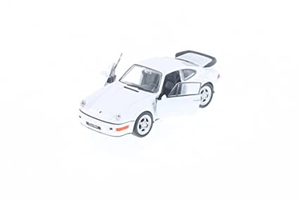 "Welly Porsche 964 Turbo, White 43611D - 5"" Long Diecast Model Toy Car but"