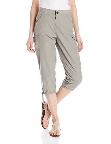 White Sierra Women's Standard Crystal Cove River Capri, Pale Taupe, Large