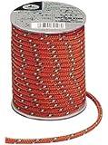 キャプテンスタッグ キャンプ テント カラー ロープ 紐  径5mm×20m オレンジM-9197