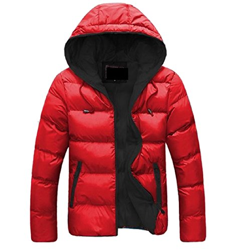 Sleeve Down With Pockets Topcoats Hoodie red Mens AngelSpace Black Long Jackets g4qEEY