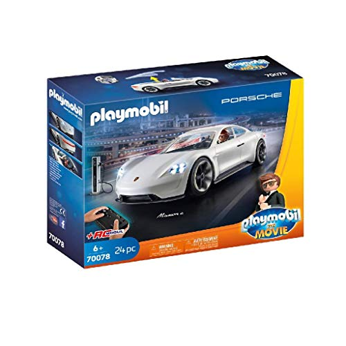 PLAYMOBIL The Movie Rex Dasher's Porsche Mission E