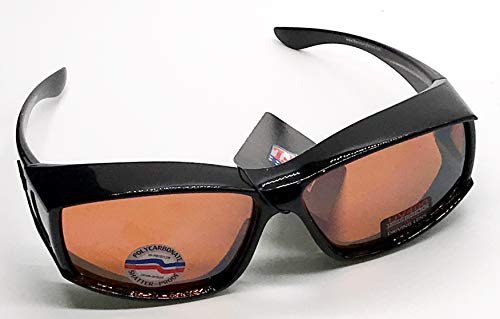 Maxx New England Patriots Men's Polarized OG Fitover Sunglasses - Size: Large - Fit Over Regular Prescription Glasses