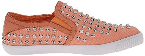 Alleen Cavalli Dames Bezaaid Slip Op Fashion Sneaker Zalm
