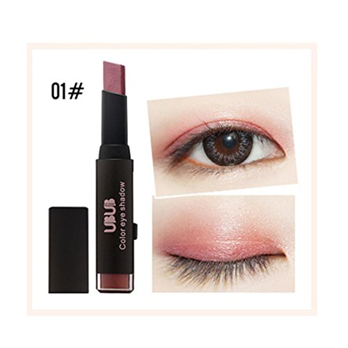 - Liquid Eyeliner Pen KingWo New Gradient Two-Color Eye Shadow Stick Shimmer Palette Eye Cream Pen Beauty (A)
