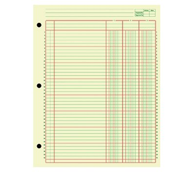 OfficeMax Analysis Pad, 13 Column, 2 Pack