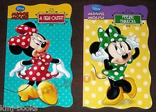 Disney Minnie Mouse ''My First Books'' (Set of 4 Shaped Board Books)
