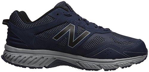 Nuovo Equilibrio Mens 510v4 Ammortizzazione Trail Running Shoe Navy / Grigio