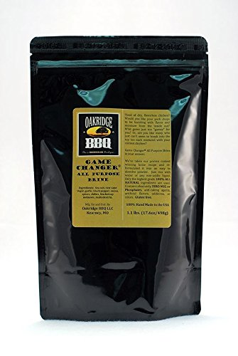 (Oakridge BBQ Game Changer All Purpose Brine - 1.1 lbs )