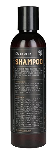Original Beard Shampoo | The Beard Club | All Natural Ingredients | Cleanse Beard & Hair