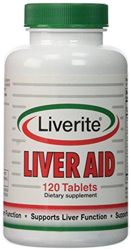 Productos liverite - Liverite hígado ayuda, 120 tabletas