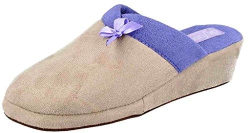 DE FONSECA ciabatte pantofole invernali da donna mod. PALERMO W04 grigio