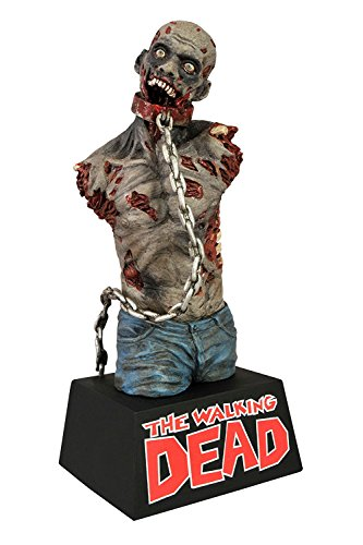 [Diamond Select Toys The Walking Dead Pet Zombie Vinyl Bust Bank] (Walking Zombie)