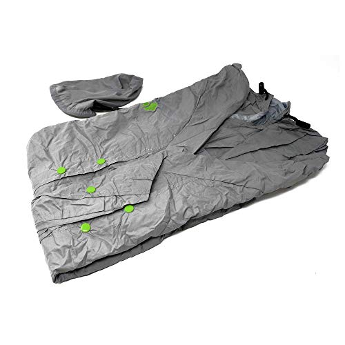 UnCharted Supply Co Hideaway Jacket - Size Large - As Small as a Baseball - Water Resistant - Survival -