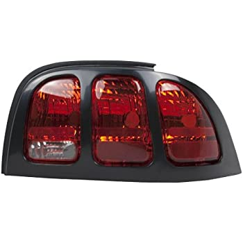 Partslink Number FO2801191 OE Replacement Ford Mustang Passenger Side Taillight Assembly