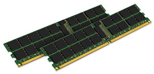Kingston 16GB (2 x 8 GB) 667MHz ECC Registered DDR2 PC2-5300 240pin DIMM for Servers P/N: KTH-XW9400K2/16G ()