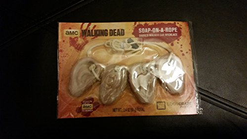 Loot Crate February 2016 Walking Dead Soap-on-a-Rope Daryl Walker Ear -