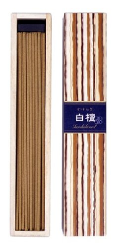 Kayuragi Sandalwood Incense w/ Holder - 40 Sticks by Nippon Kodo Kayuragi