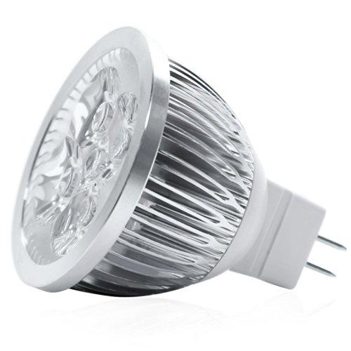 DQDF 10PCS Dimmable 12V 4W MR16 LED Bulbs