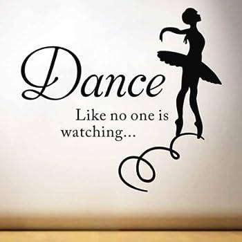 Amazon Com Just Dance Vinyl Wall Art Inspirational
