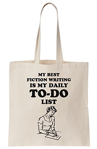 Best My Bag Tote Writing Do Canvas My List Fiction To Daily Is dOOPrBUwq