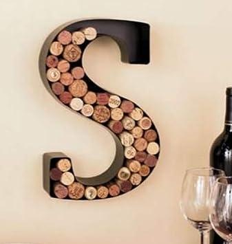 Monogram Wine Cork Holder – Letter A