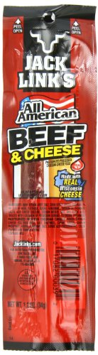 Jack Link's All American Beef and Cheese Sticks Combo Pack, 1.2-Ounce , 16 count (Pack of  2)