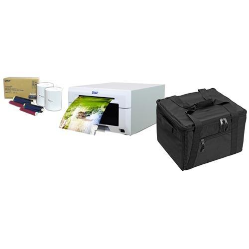 DNP DS620A Dye Sub Professional Photo Printer - Bundle 2x 4x6