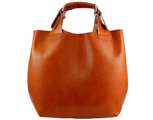 sac Camel Clair cabas sac sac Coloris talia talia Sac cabas sac mode Italie à main cuir talia Talia Plusieurs qnwTYUF