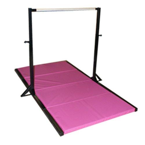 The Beam Store Gymnastics Black Mini High Bar With Pink 2