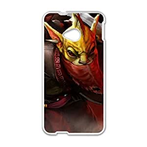 HTC One M7 Cell Phone Case White Defense Of The Ancients Dota 2 BOUNTY HUNTER 005 UW1091668