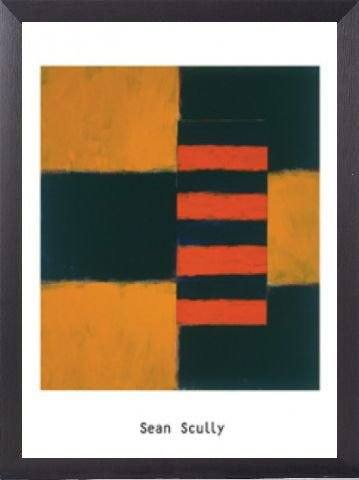 Sean Scully Poster Art Print and Frame (Aluminium